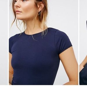 Free people cap sleeve seamless crop cami